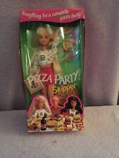 Barbie Doll Pizza Party Skipper Pizza Hut #12920 Mattel 1994 Blonde MIB (TX-2)