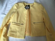 New Look Yellow JACKET Size 6 (34)- New