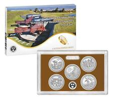 2016 Proof Set ATB National Park Quarters Complete Mint Fresh 5 Coins CLAD