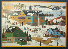 jigsaw puzzle 1000 pcs Maple Sugaring HomeTown Collection Heronim 1996