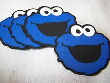 Large Cookie Monster party decorations 6 in. face Sesame Street (4)