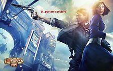 """Bioshock Infinite PS3 xbox360 2014 art Silk Wall huge Poster 12x18"""" BI10"""