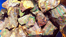10 Pounds Rough Black Matrix Opal Honduras - Erandique Honduras