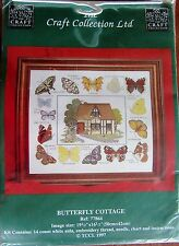 Cross Stitch Kit - The Craft Collection - Butterfly Cottage