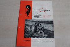 160904) Rabewerk Beetpflug Kultivator Rübenroder Egge Prospekt 08/1982