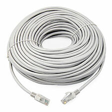 10m RJ45 Cat6 Network Cable Ethernet Snagless LAN UTP LSOH Fast Patch Lead Grey