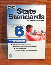 State Standards Grade 6 Test Preparation Software 50 States PC & Mac BRAND NEW