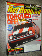 Sept 2008 Popular Hot Rodding: HOW TO: Make & Manage the Twist, '70 Super Bee