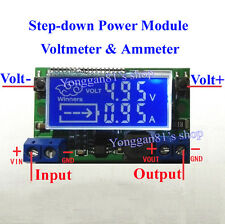 DC-DC Step-down Charge LED Driver Voltmeter Ammeter Module 3A Adjustables fuente