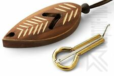 "Altay Jew's Harp by P.Potkin: Jaw/Mouth Harp + ""Dark Leaf"" Protective Case"