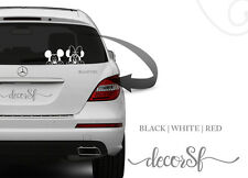 Mickey Mouse Car Vinyl Sticker, Car Bumper, Window, 21 cm size - Car stickers