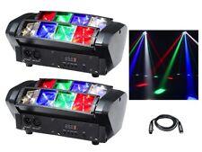 2 x equinox onyx led rgbw beam effet de lumière dj disco éclairage dmx