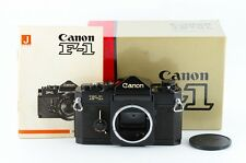 Excellent++ Canon old F1 35mm SLR Film Camera boxed and Japanese manual (♯44157)