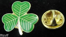 Irish Shamrock Lapel Hat Tie Cap Pin Badge Symbol of Ireland Eire Gaelic Brooch