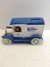 Ertl Scott Tissue 1917 Model T Metal Bank 75th Anniversary  Edition w/Key