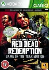 Red Dead Redemption Game Of The Year Classics Xbox 360 GOTY * NEW SEALED PAL *
