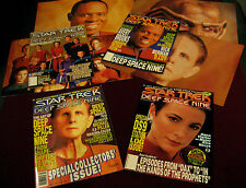 STAR TREK DEEP SPACE NINE MAGAZINE SERIES - ISSUES #1-4 ST:DS9 COLLECTIBLE LOT!