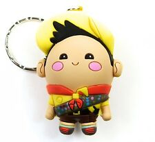 """Disney 3-D Figural Keyring Series 3 RUSSELL FROM UP 3"""" KEYCHAIN Blind Bag NEW"""