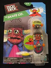 NEW! TECH DECK TD Skate Co. Billy Marks 2/6 Finger board Display Stand