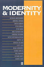Modernity and Identity by John Wiley and Sons Ltd (Paperback, 1992)