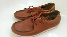 CLARKS men's casual comfort shoes 100% leather size 7 G