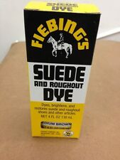 Fiebings Suede and Roughout Dye 4 Oz 21 Colors To Pick From