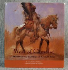 West of Camelot Historical Paintings Kenneth Riley Settlers Galleries HBDJ 1993