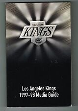 1997/98 Los Angeles Kings NHL Hockey Media GUIDE