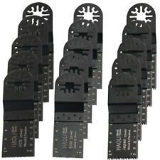 15 Pc Mix Oscillating Multi Tool Saw Blade For Fein Bosch Dremel Makita Einhell
