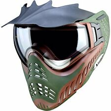 V-Force Profiler Paintball Mask - Brown on Green - NEW