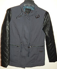 ROCK & REPUBLIC WOMENS JACKET QUILTED SLEEVES  sz XS NEW$99 AUTHENTIC