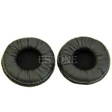 Black Leather Ear Pads Cushion for Sennheiser PX100 PX200 PMX200 PXC300 PX80