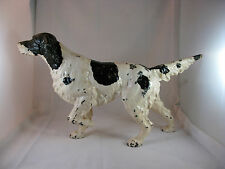 "ANTIQUE CAST IRON ""RETRIEVER"" DOOR STOP"