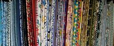 "50  2.5"" Squares 2 1/2"" Rainbow Colors No Dups Cotton Charms Quilt Top KIT Block"