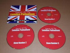 Legends Of The London Palladium (3xCD) Dean Martin Frank Sinatra Shirley Bassey