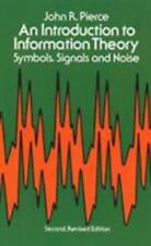 Dover Books on Mathematics: An Introduction to Information Theory : Symbols,...