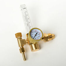ARGON CO2 Flow Meter Regulator MIG TIG Gauge Gas CGA580 Welder NEW Replacement