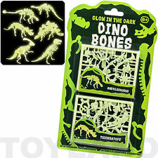 GLOW IN THE DARK DINOSAUR BONES BOYS TOY JURASSIC BIRTHDAY PARTY BAG FILLERS