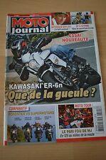 MOTO JOURNAL N°1829 DORSODURO APRILIA SHIVER KTM 990 SUPERDUKE SM SUPERMOTO 2008
