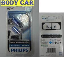 Philips White Vision Blue Vision Xenon Intense W5W Standlicht Z9C 4300 Kelvin