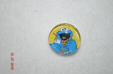 NEW metal COOKIE MONSTER snap button charm for Leather Snap bracelets/18-19MM