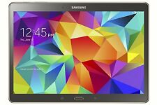 Samsung Galaxy Tab S SM-T800 16GB, Wi-Fi, 10.5in - Titanium Bronze Tablet