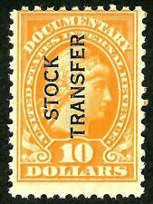 sc#RD32 OLD 1928 us/usa perf 10 stock transfer revenue stamp Mint og nh mnh