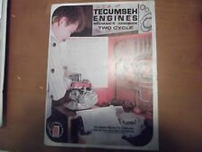Tecumseh Mechanic's Handbook Manual 2-Cycle Engines 695208 3/85