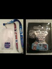 Lanyard Ticket Holder & Pin Combo#2 NY Stadium Series Rangers Islanders Devils