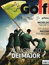 Golf Today 2016 273 aprile#All'assalto dei Major,Rickie Fowler,Phil Mickelson,jj