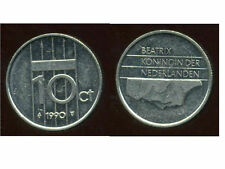 PAYS BAS  10 cents 1990