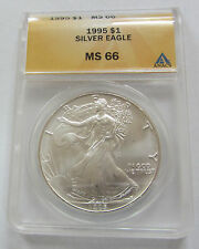 1995 MS66 American Silver Eagle 1oz.