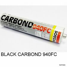 Black Carbond 940FC Adhesive Sealant Car Body Kit Bond Glue Soudal Metal Marine