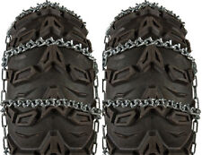 Sedona Pair V-Bar Snow Tire Chains ATV 23x10-10 23x8-10 24x9-10 22x7-11 23x8-11